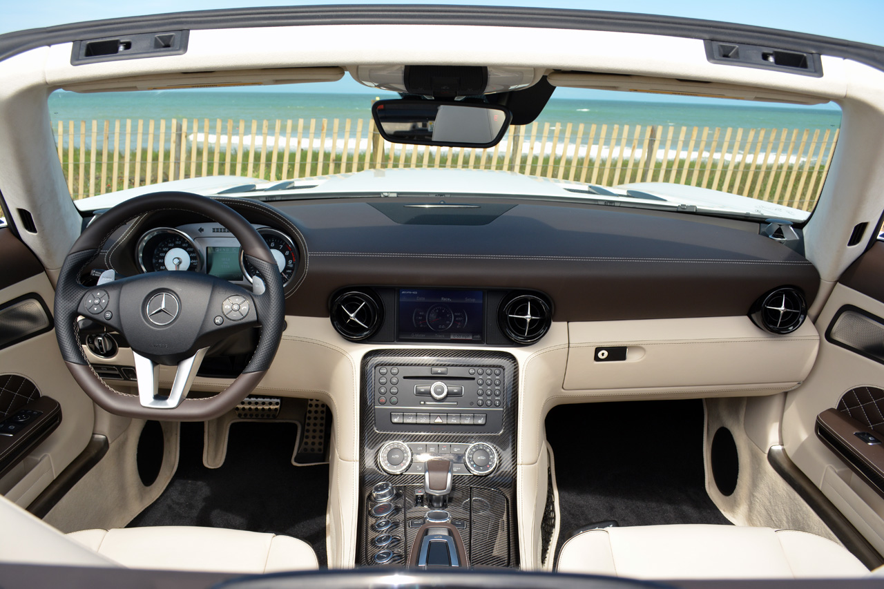 there are two things that the mercedes benz sls amg hasnt been lacking in its short time in existence more power and more letters in its name - Mercedes Benz Sls Amg Interior