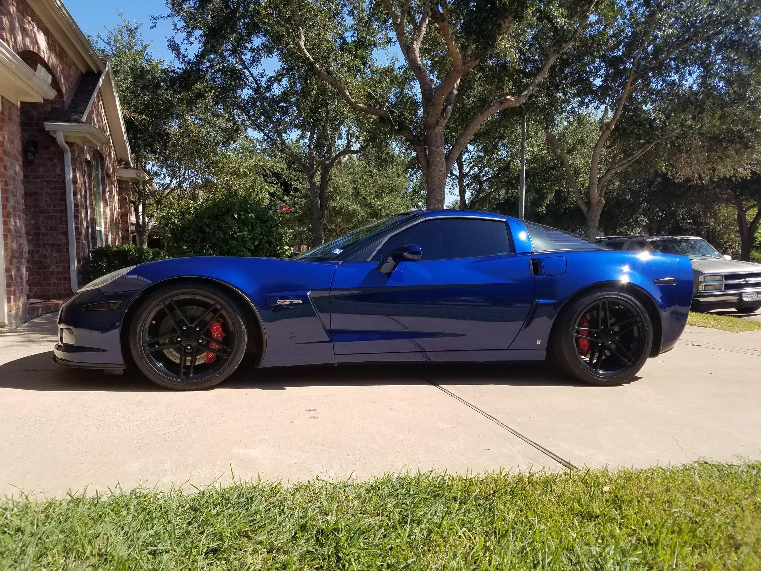 Sold 2006 corvette z06 2lz lemans blue with 62 000 miles for sale