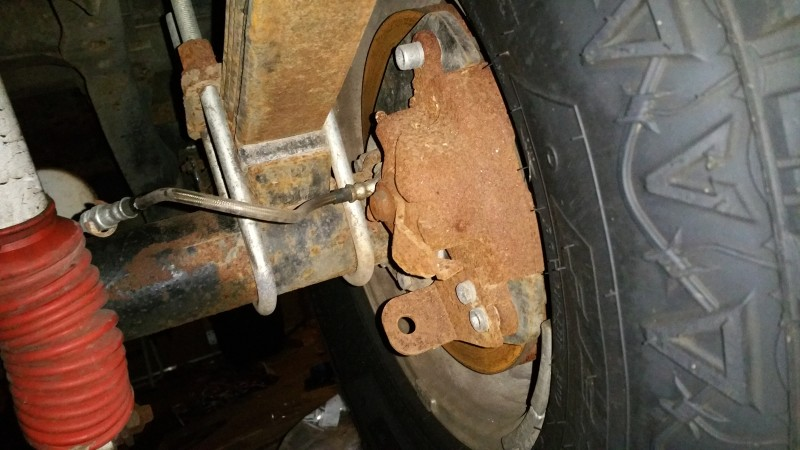 Disc brakes with parking brake - Full Size Jeep Network