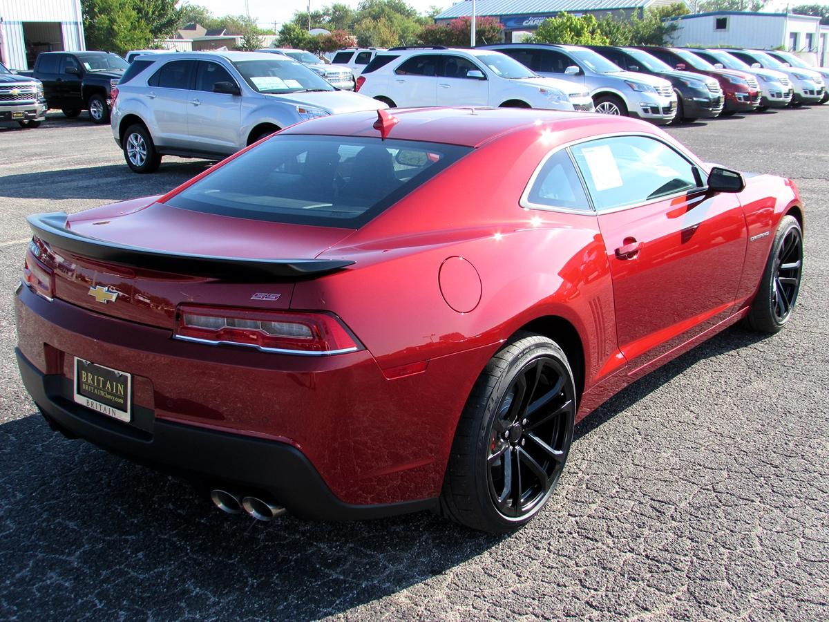 Red Rock Metallic 2014 1le Camaro