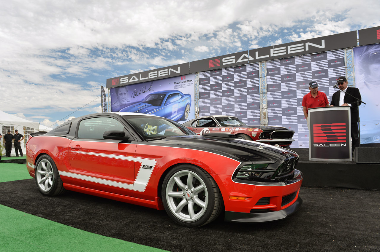 Saleen used the occasion of the race fueled rolex monterey motorsports reunion at mazda raceway laguna seca to announce its new heritage collection lineup