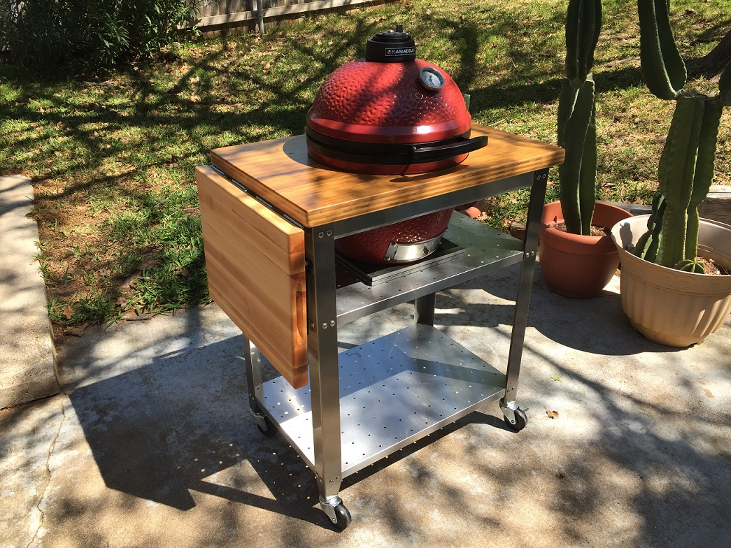 Quick And Easy Table For Joe Jr Do It Yourself Kamado