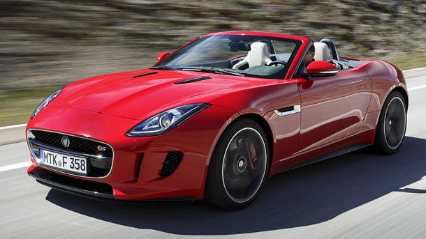 2014 Jaguar F Type, 5 Liter Supercharged