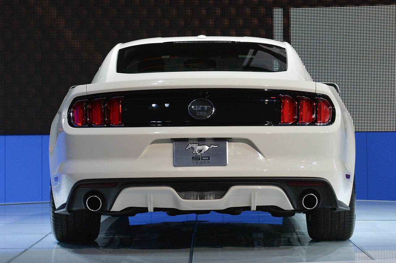 2015 ford mustang 50 year limited edition 50 - Ford Mustang Gt 2015 White