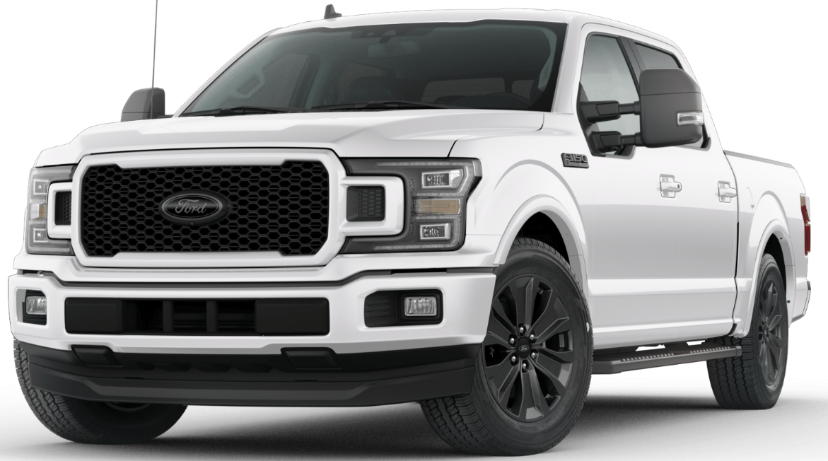 Smegol wants! White F150 with the black out appearance package