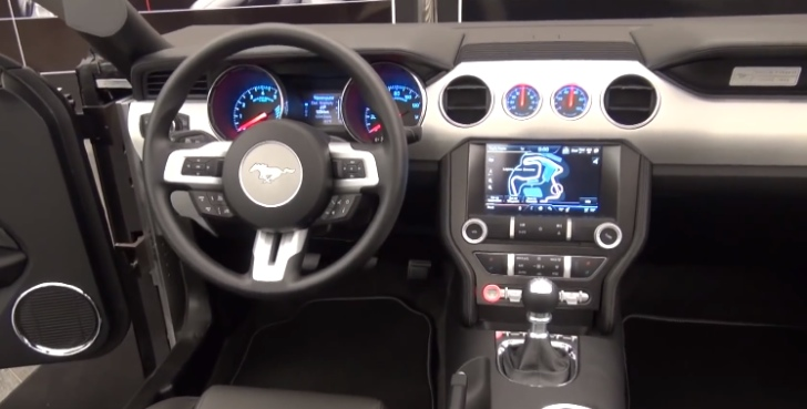 2015 Ford Mustang Interior Design Pic And Video