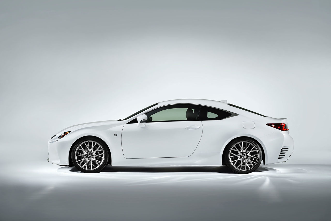 Lexus RC 350 F Sport Ready To Take On Europeu0027s Coupes