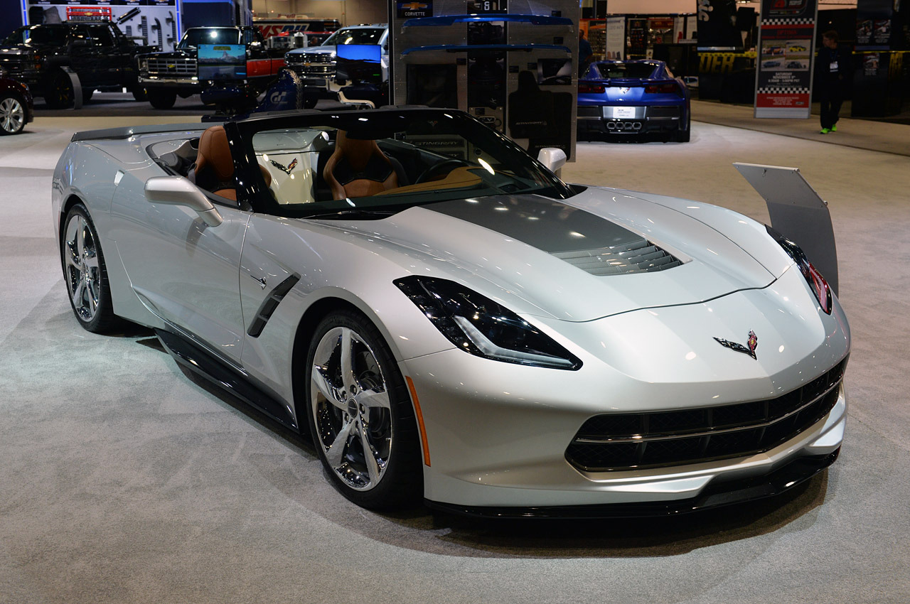 Chevrolet Corvette concept duo is one of a first along plus a