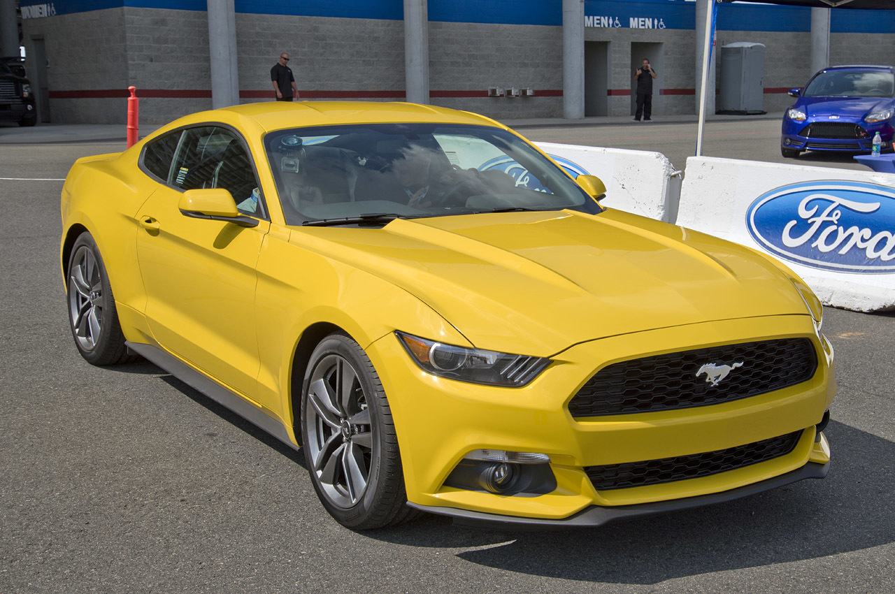 2015 Ford Mustang Ecoboost Turbo 2 3l I4 305 Hp 300 Lb Ft