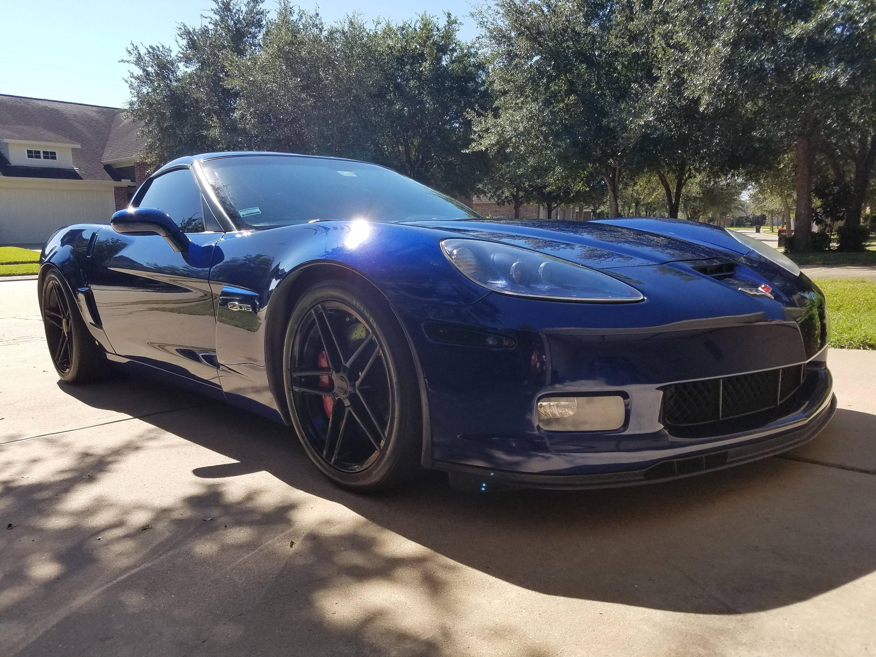 Sold 2006 corvette z06 2lz lemans blue with 62 000 miles for sale