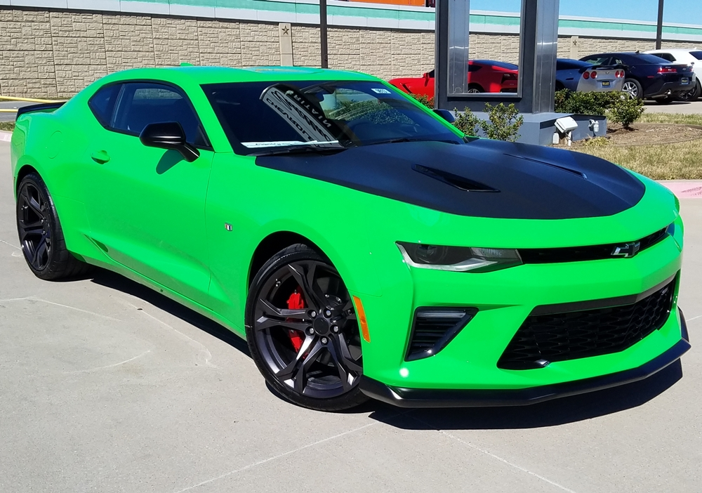 Green Camaro 2017 Pictures To Pin On Pinterest Pinsdaddy