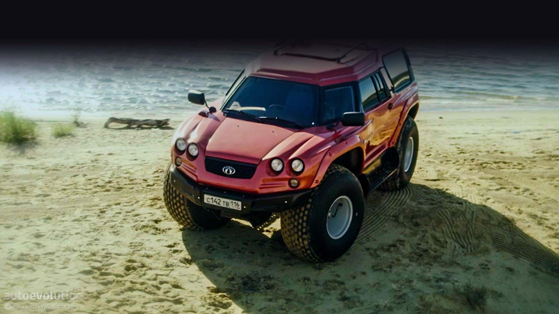 The Viking 29031 Is An Amphibious Monster Truck From Russia