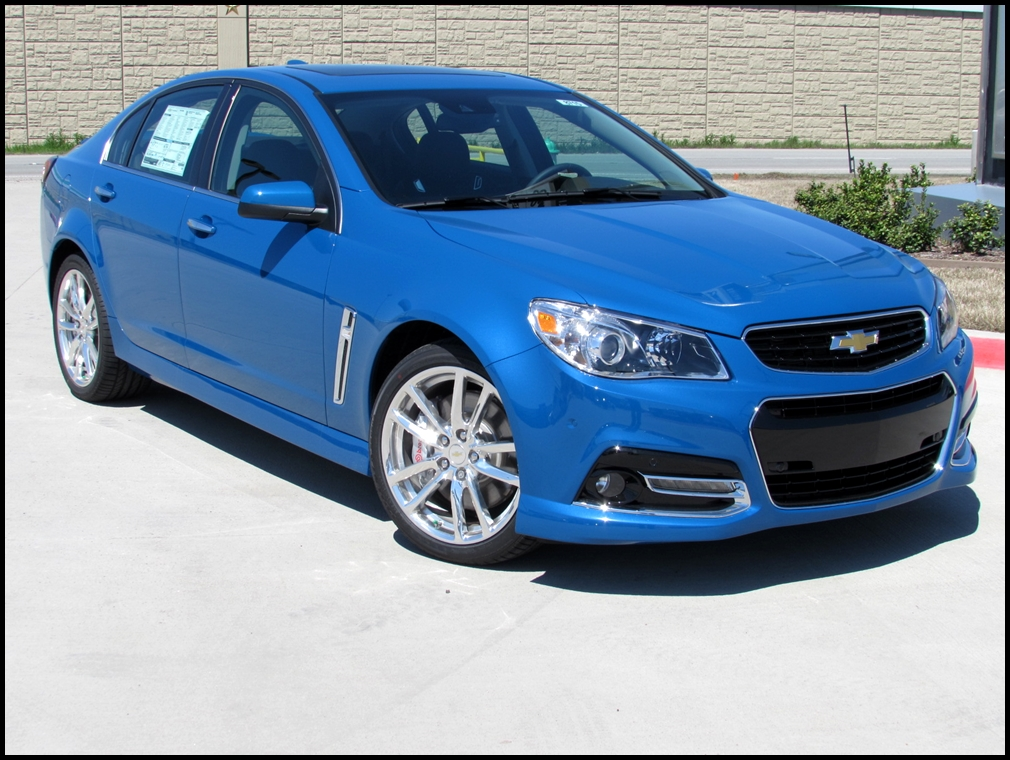 2015 Chevy Ss Sedan Specs