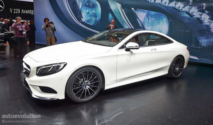 2015 s class coupe c217 takes center stage in geneva photo gallery