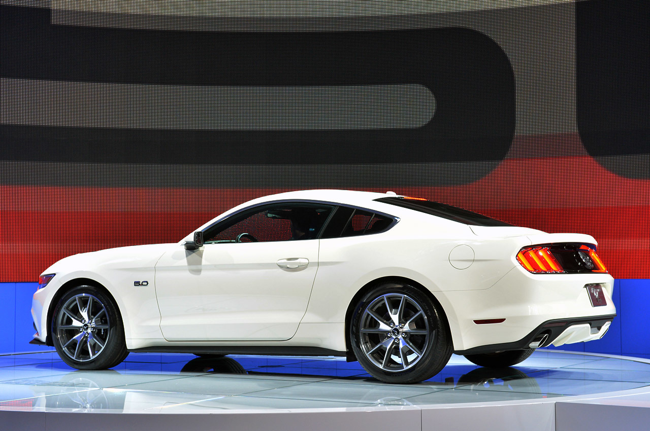 2015 ford mustang 50 year limited edition 50 - 2015 Ford Mustang White Convertible