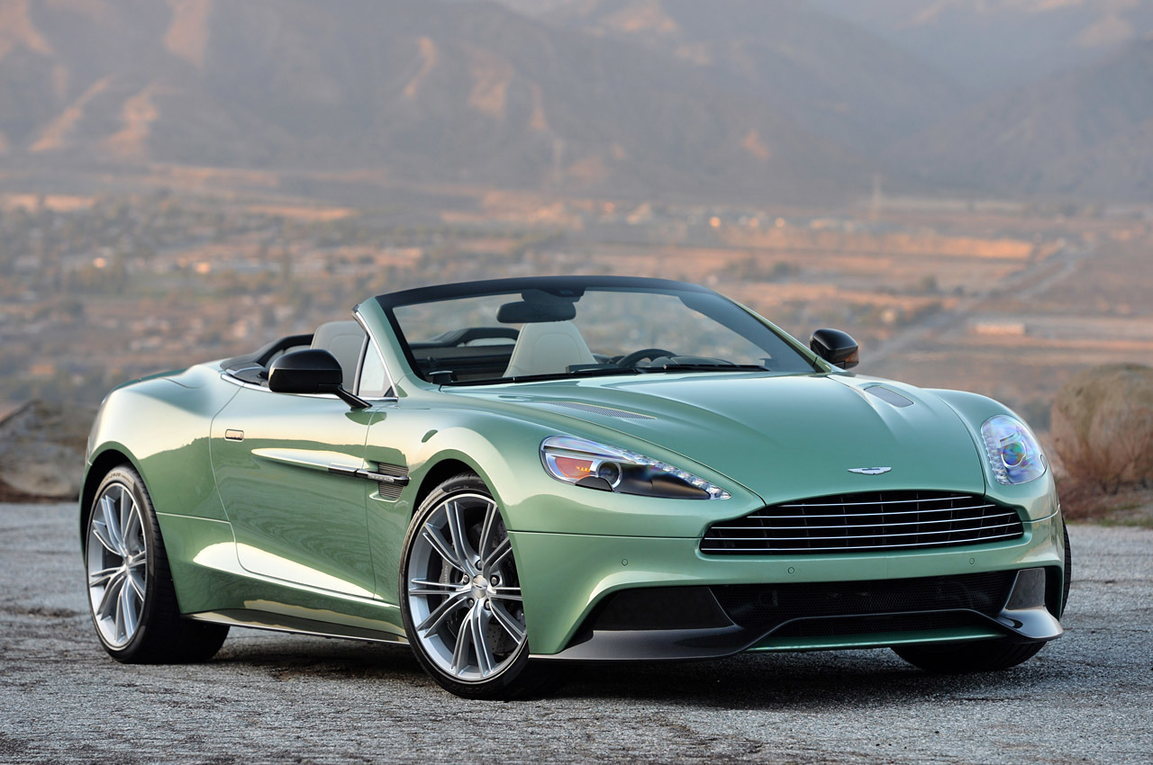 Thread: New 2014 Aston Martin Vanquish Volante 6.0L V12 565 HP $297 $311K