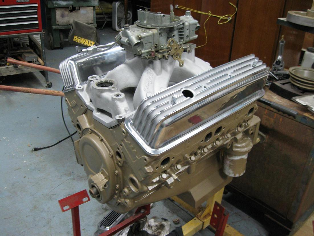 1966 Chevy Truck Engine Color