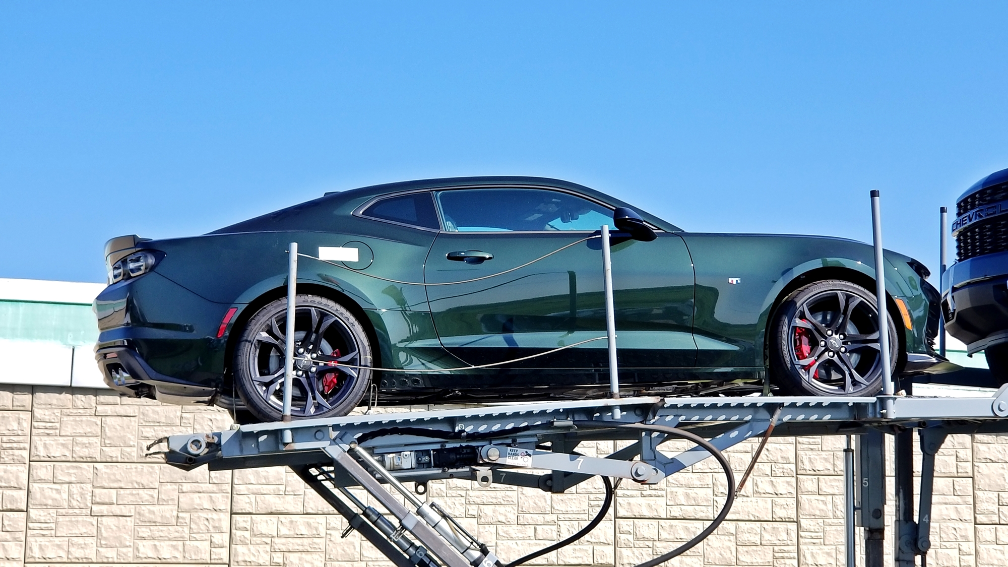 2020 Rally Green Camaro SS 1LE
