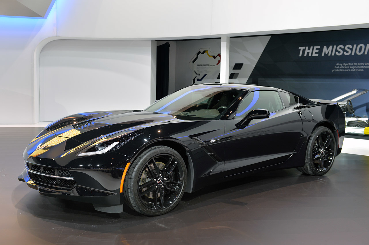 All Chevy black chevy reaper : Chevrolet Corvette Stingray Black Widow comes to the rescue in ...