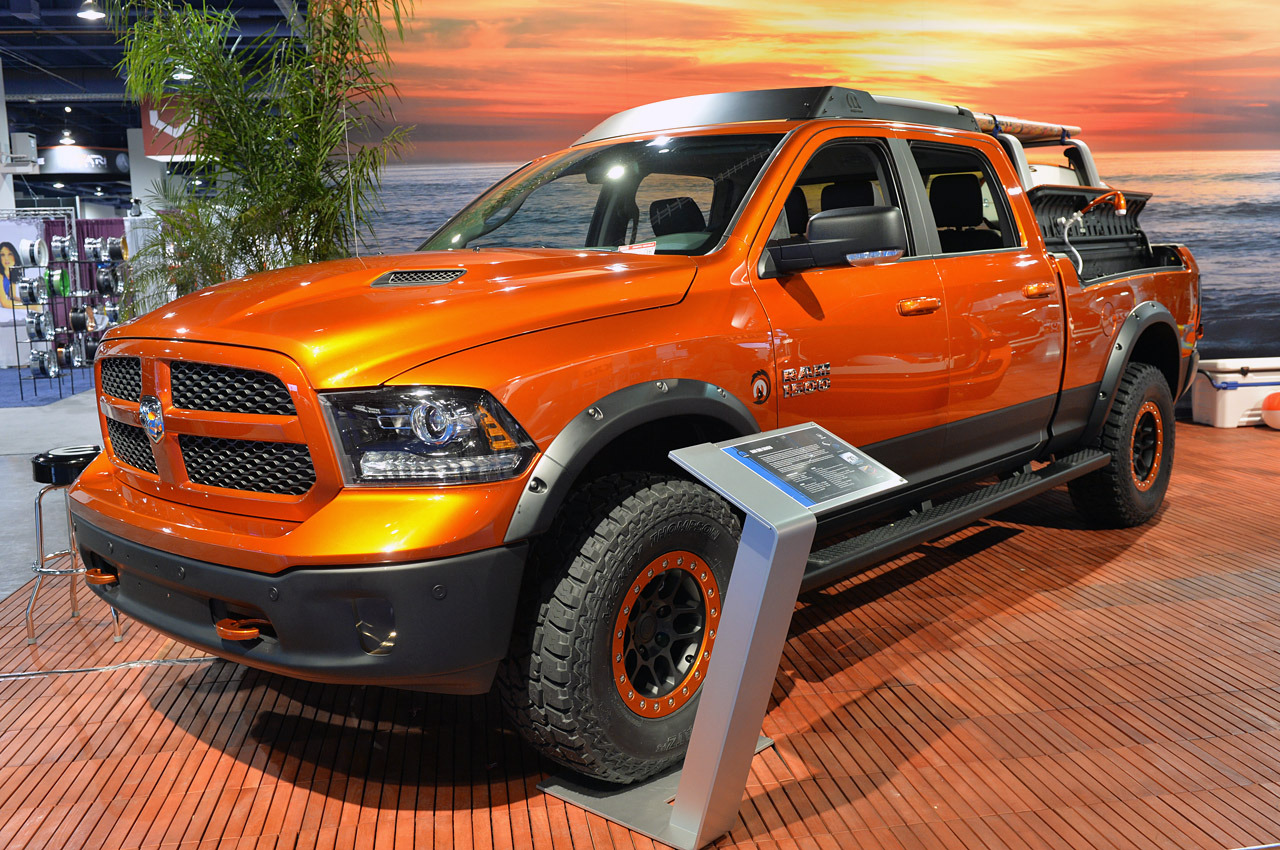 New Dodge Ram Shows Its Trucks Are For Work And Play 2014 Paint Colors