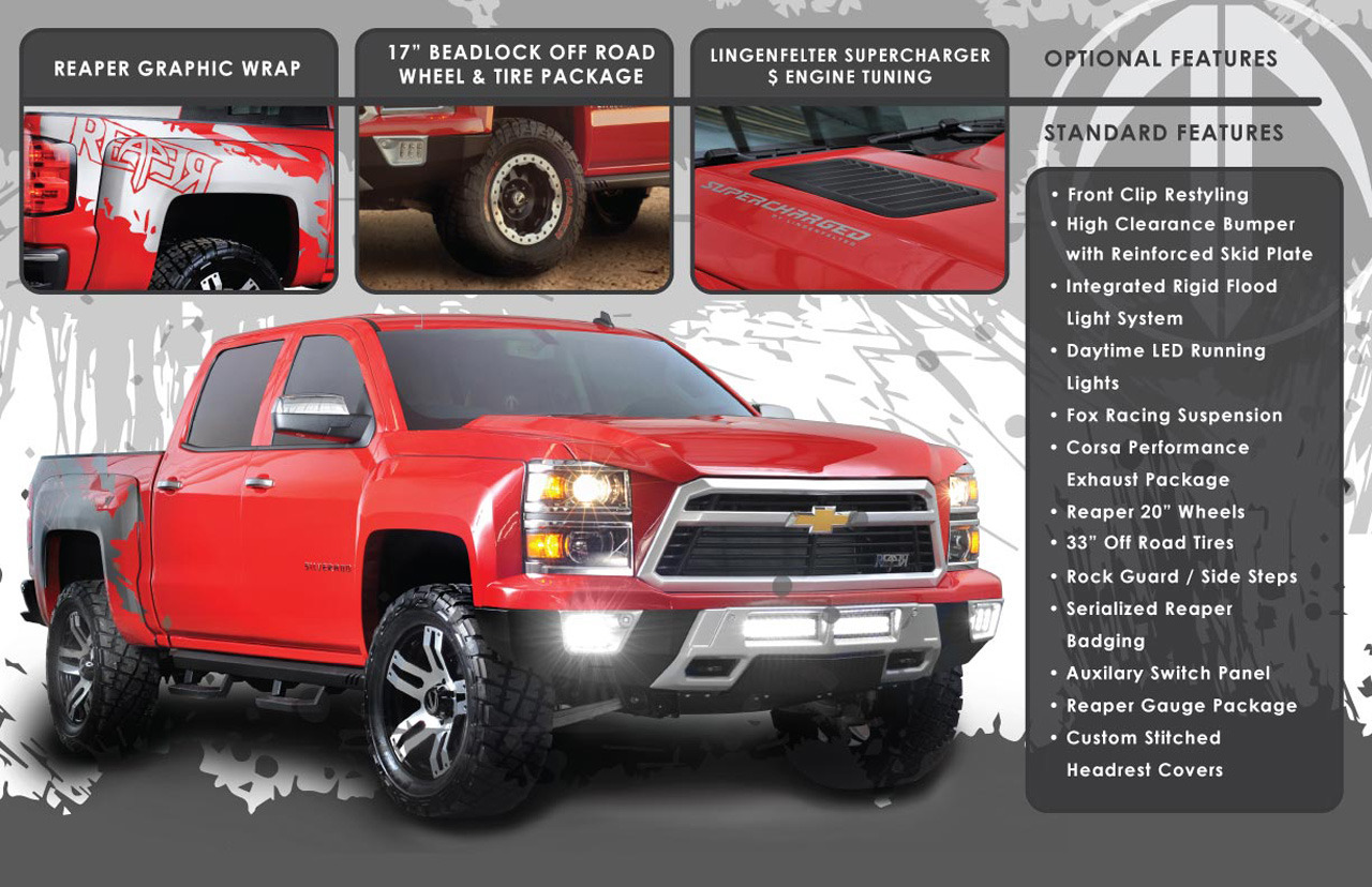 Truck chevy concept truck reaper : 2014 Chevrolet Silverado Reaper