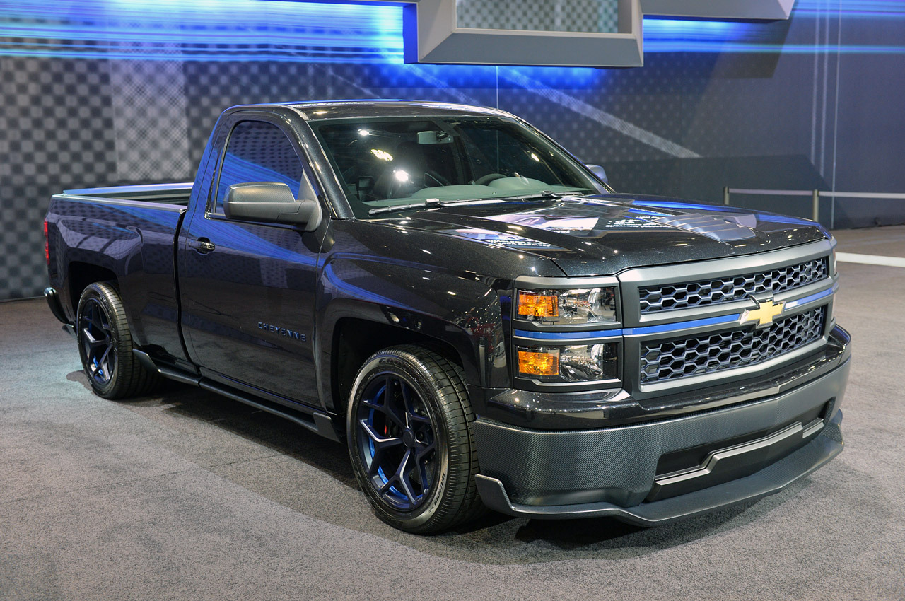 All Chevy chevy 1500 6.2 : 2014 Chevy Silverado Cheyenne 420HP, 6.2-liter V-8 engine
